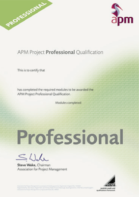 PPQ - Project Professional Qualification